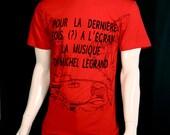 Godard T-Shirt Red - Cinema Boutique
