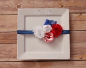 Red, White, and Blue Patriotic Headband