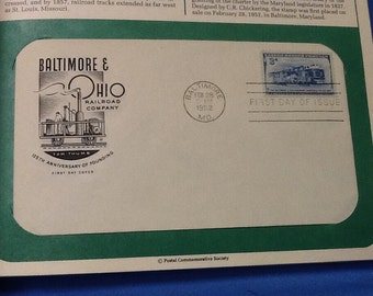 First day issue stamp