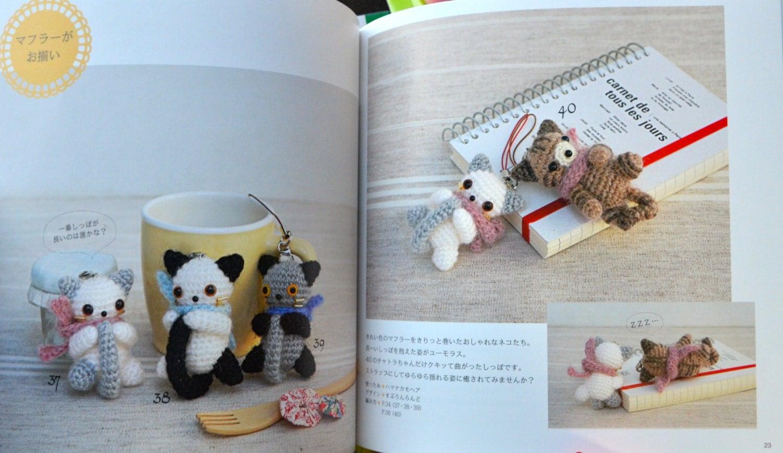 Amigurumi For Dummies Book : Animals crochet amigurumi mascots japanese craft book from