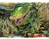 Little Shop of Horrors - Feed Me Poster Print