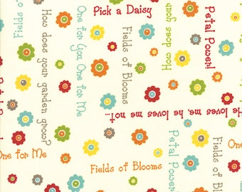 Moda One For You One For Me by Pat Sloan Say It in Linen by the Yard