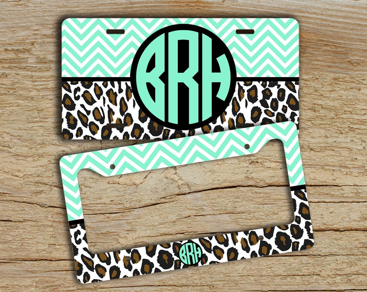 Car Tags: BFF Gifts Monogram License Plate Or Frame Front Car Tag
