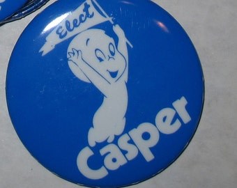 vintage elect casper the friendly ghost button