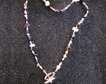 Soulmate Necklace - Crystal Healing Necklace for Soulmate Love by Jelila