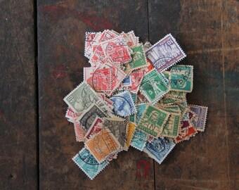 150+ vintage world postage stamps switzerland sweden