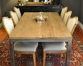the BLUFFDALE -  Reclaimed Wood Dining Table