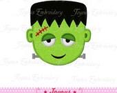 Instant Download Halloween Frankenstein Applique Machine Embroidery Design NO:1401