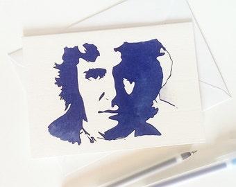 Paul McGann, Queen of the Dammed, Alien 3,  Dr Who Card