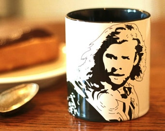 Chris Hemsworth - Thor - Ghostbusters - Rush - Avengers - Hand crafted Cup