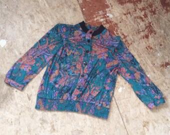 Paisley Sweater/Jacket