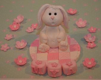 Bunny Baby Cake Topper
