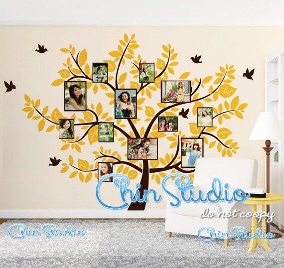 Arbre wall stickers muraux autocollant maison par chinstudio for Autocollant mural arbre