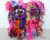 16x16 SHAGGY Tulu Kilim Rug Pillow Cover,Colorful Tribal Decor Outdoor Decorative Throw Cushions, Cottage Chic Ethnic Pillows, Floor Cushion