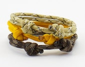 Paracord Bracelet Earth Tone Collection Buy Two Get One Free Minimalist Design