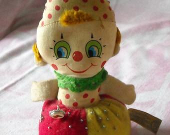 Vintage 1960's Knickerbocker Teenie Beanie Toy