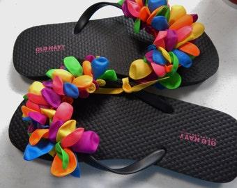 BALLOON FLIP FLOPS---girls