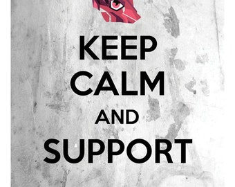 League of Legends Print: Keep Calm and Support