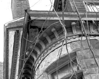 Dramatic photos of urban detroit
