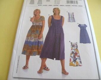Easy BURDA 8077 Pattern Uncut sizes 10,12,14,16,18,20
