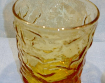Milano Amber Old Fashioned Tumbler, 3 in.