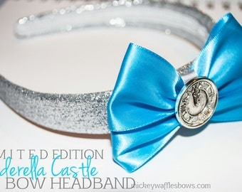 Cinderella Castle Bow Headband (Limited Edition)