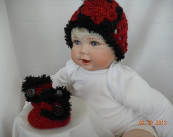 Baby Ugg Boots and Hat