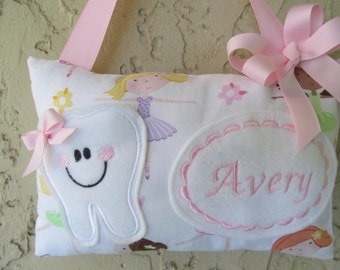 Tooth Fairy Pillow Ballerina Personalized