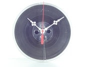 Vintage Maxell Reel to Reel Tape made into Wall Clock, Geekery, Clocks by DanO