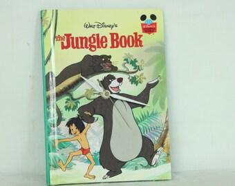 The Jungle Book, Wall Clock, Disney, Children's Book, Geekery, Clocks by DanO