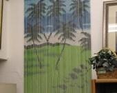 Vintage bamboo door curtain bargain