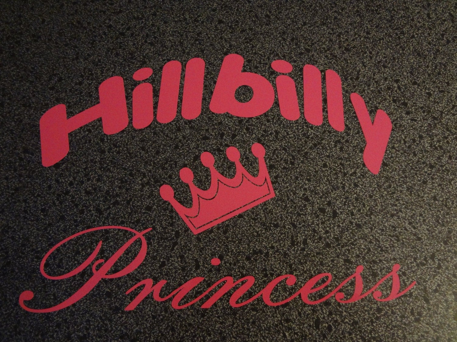Hillbilly Princess Window Decal Redneck Truck Car Minivan - Redneck window decals for trucks