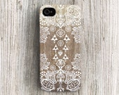 Tribal iPhone case lace iPhone 4 case iPhone 4s case designer iphone 5c case painting wood iPhone 5s case gradient iphone 5 case boho c263