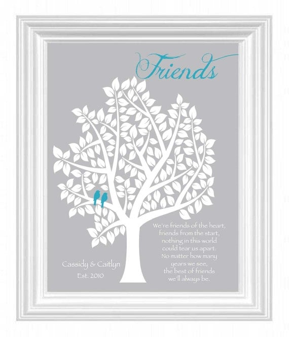 Best Friends Gift Personalized Gift For A By