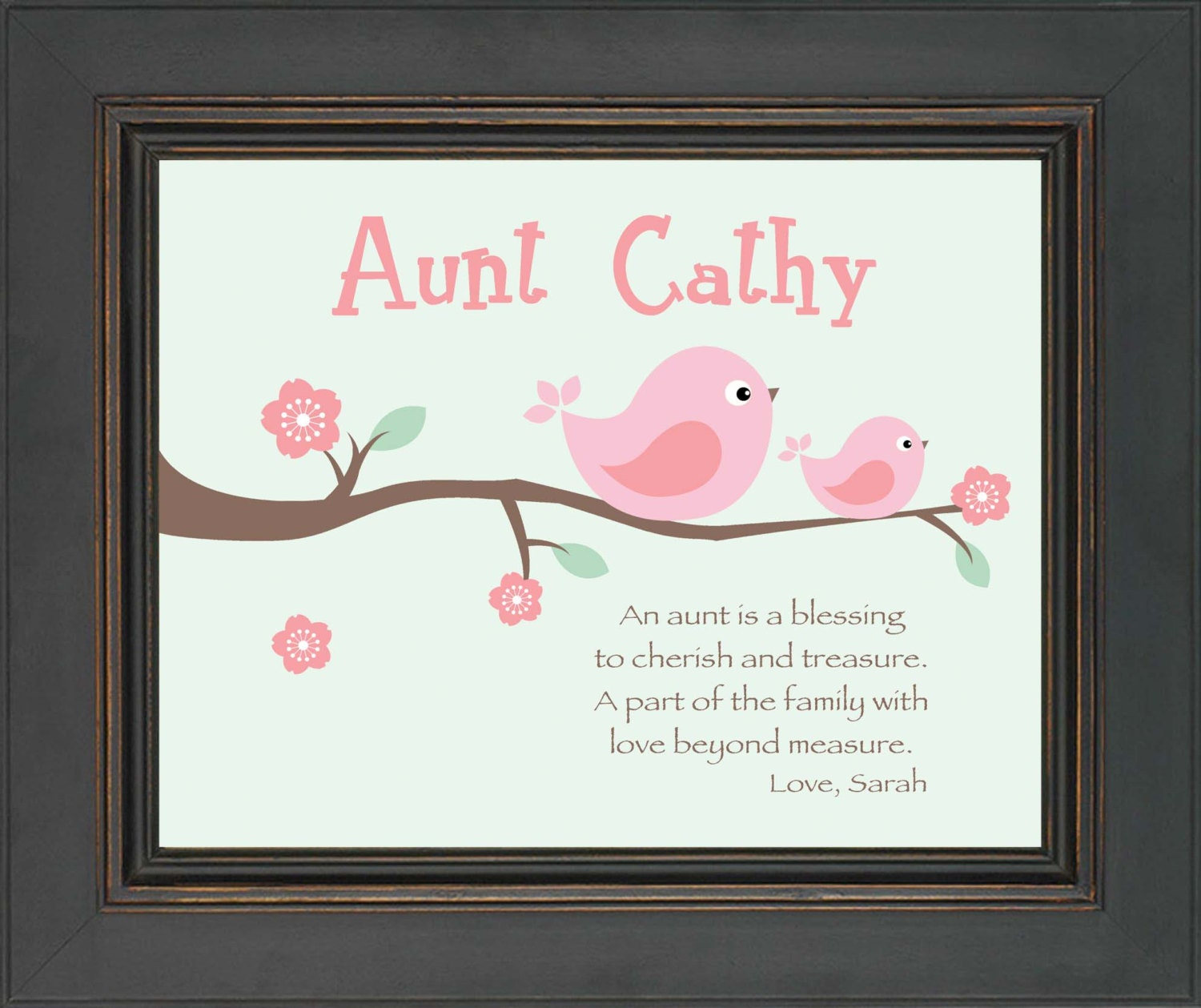 AUNT Personalized Gift Custom Gift For A Special Aunt