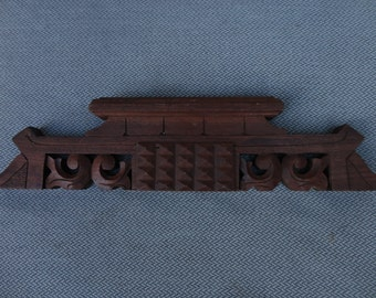 Antique Wooden Architectural Detail
