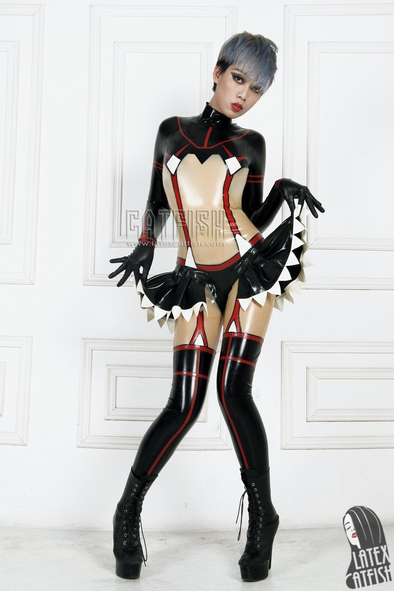 outfits women Latex for