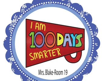 100 days smarter 100 day of school 100 days of school printable 100 ...