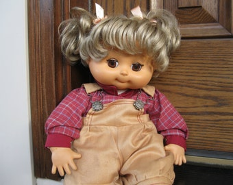Emotions Doll by Mattel-1984 Baby doll-Vintage Hopscotch Kid Doll-Baby Doll-Doll by MATTEL-1984 Toy Doll-Hopscotch Doll