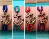 NEW COLOURS - Anchor Bracelet