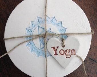 Ceramic Chakra Coasters