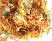 Organic CALENDULA FLOWERS and PETALS - Marigold Tea - For Flavoring and Color - Half Ounce