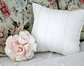 Shabby Chic Quilted Throw Pillow