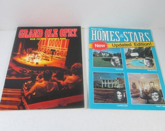 Grand Ole Opry Music City Homes Two Books
