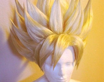 Made to order - Tall Spiky styled Cosplay Wig