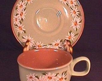 Taylor Smith Taylor Lazy Daisy patt. Cup and Saucer
