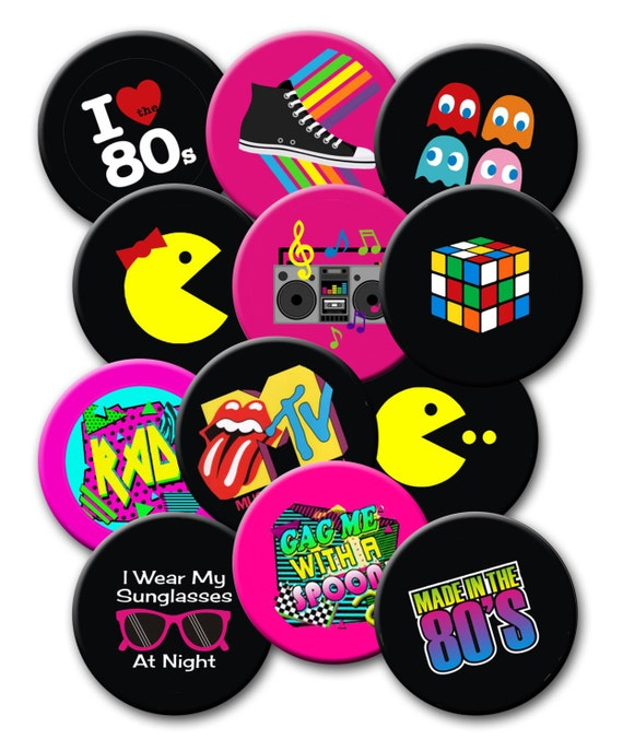 Totally 80 39 s party theme party favors set of 12 inch for 80s theme party decoration
