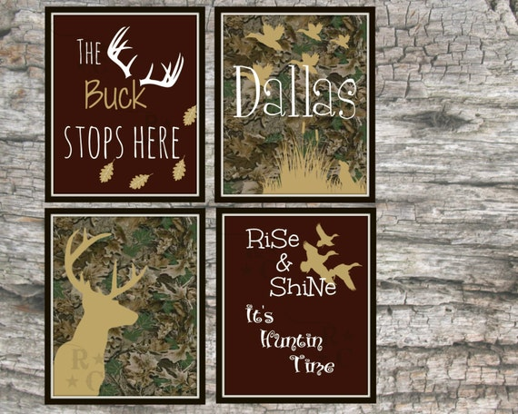 Camo nursery boys hunting nursery the buck stops here baby for Camouflage bedroom ideas for kids