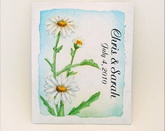 Flower Seed Packet - Seed Packet - Wedding Favor - Party Favor Seed Packet - Customized - Flower - Daisy
