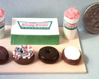 Barbie & American Girl Sized Krispy Kreme Donut Food Display Board
